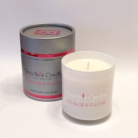Pink Daisies & Goji Berries Jewelry Surprise Candle