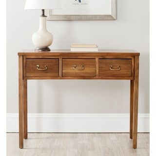 "Safavieh Cindy Oak Console - 39.4"" x 14.2"" x 31.7"""