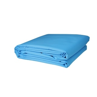 "117"" Bright Sky Blue Square Outdoor Patio Sun Shade Tarp"