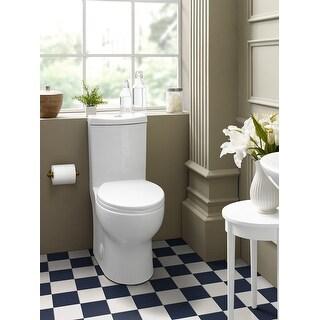 Plaisir One Piece Elongated Toilet Dual Flush 0.8/1.28 GPF