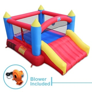 ACTION AIR Inflatable Bounce House Jumping Castle with Slide (9745)