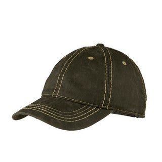 Top Headwear Pigment Print Distressed Cap