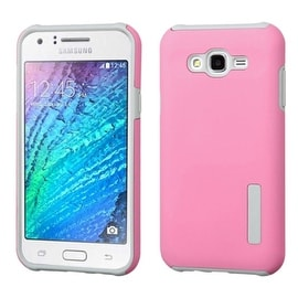 Insten Dual Layer Hybrid Rubberized Hard PC/ Silicone Case Cover For Samsung Galaxy J7 2015 Version