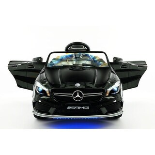 Mercedes CLA45 12V Kids Ride-On Car with R/C Parental Remote