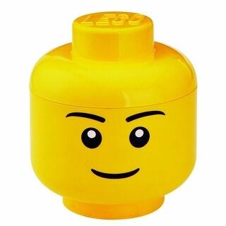 LEGO Large Storage Container Head, Boy - Multi