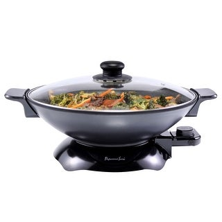 Continental Electric Pro Chef Non-Stick Wok Skillet Pan