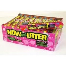 Now & Later Classic Assorted Candy 24 pack (18 ct per pack)