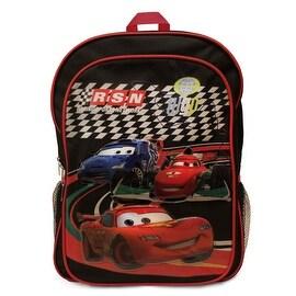 Disney Cars 2 World Grand Prix Large Backpack