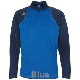 adidas - CLIMAWARM+ Quarter-Zip Colorblock Training Top