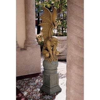 Design Toscano Halloween Talysus the Terrible Gargoyle Sculpture
