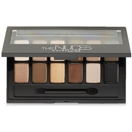 Maybelline New York The Nudes Eyeshadow Palette 0.34 oz