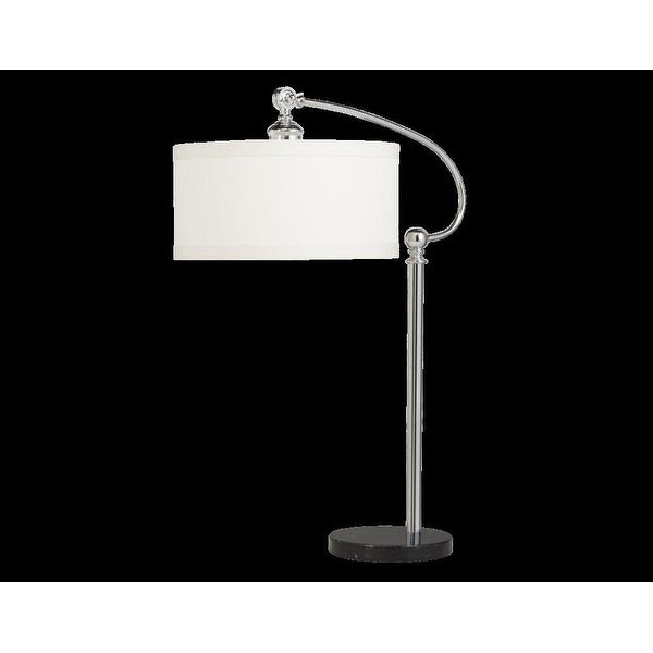 "30"" Gatwick Chrome Finish Table Lamp"