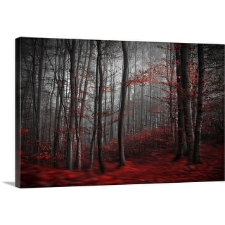 """Bloody River"" Canvas Wall Art"