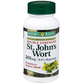 Nature's Bounty St. John's Wort 300 mg Capsules 100 Capsules
