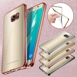 ShockProof Silicone Bumper Clear Slim Case Cover For Samsung Galaxy S7 Edge
