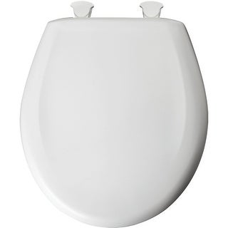 Bemis 200SLOWT Round Closed-Front Toilet Seat and Lid with