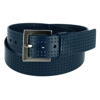 Pebble Beach Men's Silicone Perforated Golf Belt