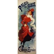 Palais De Glace by Jules Cheret Vintage Advertising Art Print