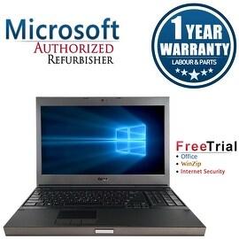 Refurbished Dell Precision M4600 15.6'' Laptop Intel Core i7-2720QM 2.2G 4G DDR3 1TB DVD Win 10 Pro 1 Year Warranty