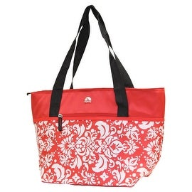 Igloo Insulated Shopper Cooler Tote Bag - Red