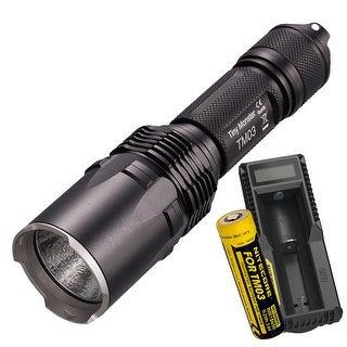 NITECORE TM03 Tiny Monster 2800 Lumen Suppressive Burst Flashlight + UM10 Charger