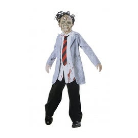 Zombie Businessman Costume, 8-10