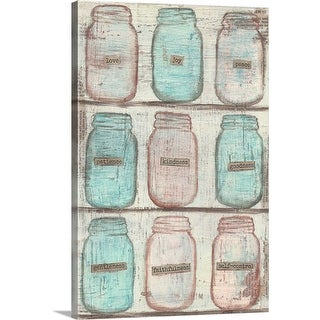 """Jars"" Canvas Wall Art"