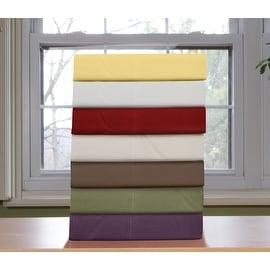 Luxury Super Soft Solid Premier High Quality Bed Sheet Set - Deep Pocket - Solid Sheet - Wrinkle Resistant