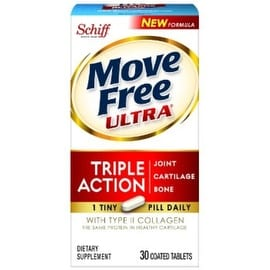 Move Free Ultra Joint Supplement w/ Collagen & Hyaluronic Acid 30 ea