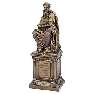 Design Toscano Plato, Master of Western Philosophy Statue