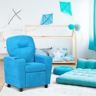 Costway Kids Recliner Armchair Children's Furniture Sofa Seat Couch