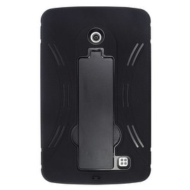Insten Symbiosis Dual Layer Hybrid Stand Rubber Silicone/ PC Case Cover For LG G Pad 7.0