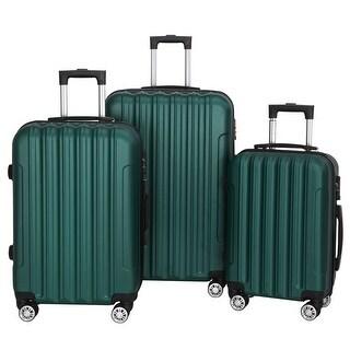 Multifunctional Large Capacity Traveling Storage Suitcase Luggage Set of 3