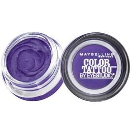 Maybelline EyeStudio Color Tattoo 24Hr Eyeshadow, Painted Purple [20], 0.14 oz