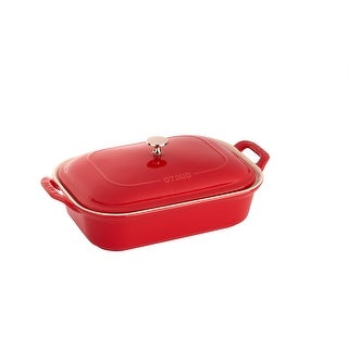 Staub Ceramic 12-inch x 8-inch Rectangular Covered Baking Dish - 12-inch x 8-inch
