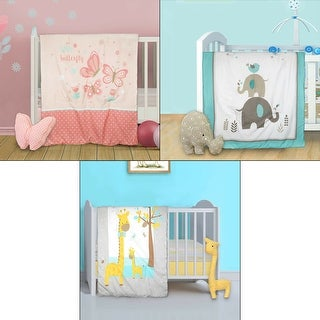 Cuddles & Cribs 2 Piece Crib Bedding Set