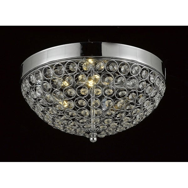 Flush Mount French Empire Crystal Chandelier Free Shipping Today Overstock Com