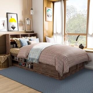 Carbon Loft Jorchid Modern Multi-storage Platform Bed