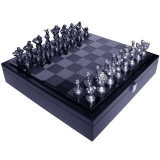 Street Fighter 25th Anniversary Resin Chess Set w/ Game Board - Multi