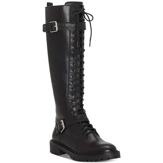 Lucky Brand Womens Inniko Leather Almond Toe Knee High Cold Weather Boots