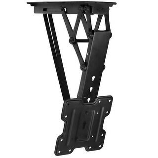 Mount-It! Motorized Ceiling TV Wall Mount - MI-4223 - black