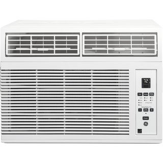 """GE AHM08LY 19"""" Energy Star Qualified Window Air Conditioner with 8000 BTU Cooling Capacity, in White"""