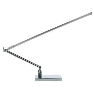 PureOptics® LED Bar Lamp with Adjustable Boom Arm, Desk or Clamp Mount, Natural Daylight, 7W, 535 Lumens