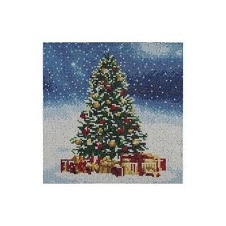 "Diamond Art Kit 12x12"" FD Holiday Christmas Tree"