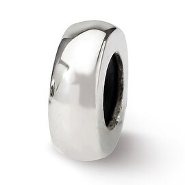 Sterling Silver Reflections Stopper/Spacer Bead (4mm Diameter Hole)