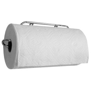 Easy Install Wall Mounted Steel Paper Towel Rack, Chrome