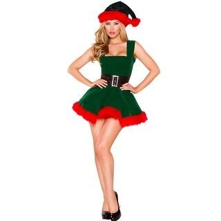 Head Elf Hottie Costume, Hoty Elf Costume - As Shown