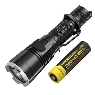 NITECORE MH27 Multitask Hybrid Multi-color Rechargeable Flashlight w/ USB Rechargeable Battery