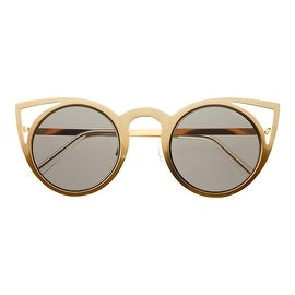 Luna Round Cat Eye Sunglasses