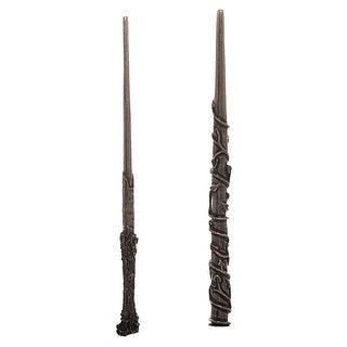 Bioworld Harry Potter Harry and Hermione Wand Hair Sticks